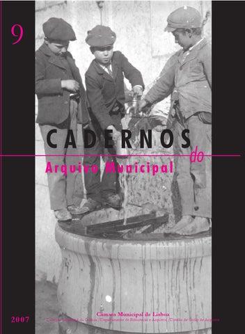 a768579d7deea Cadernos do Arquivo Municipal n.º 9 by Câmara Municipal de Lisboa ...
