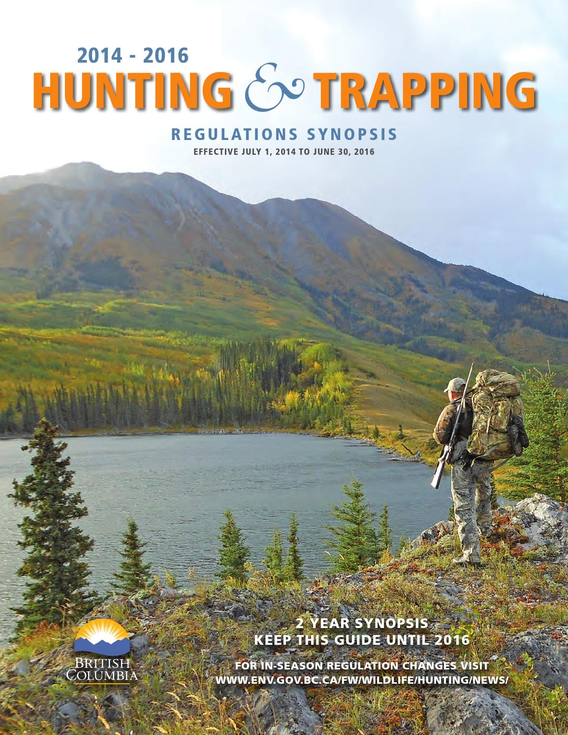 Special Features - Hunting and Trapping 2014 2016 by Black