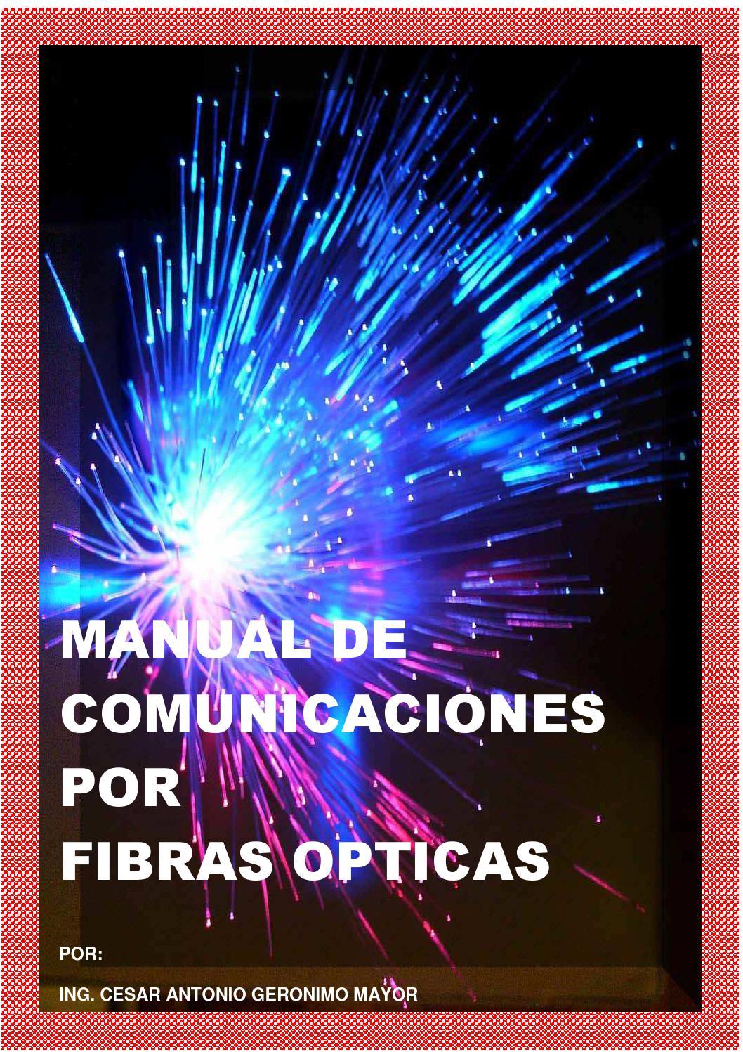 Libro De Comunicaciones Opticas By Cesar Geronimo Issuu