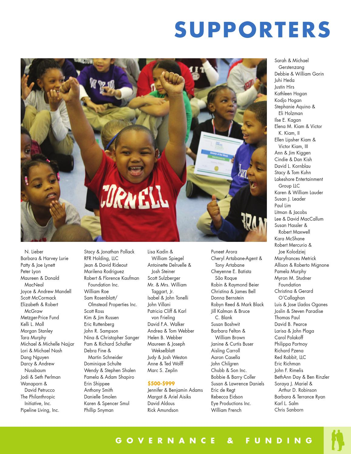EHTP Annual Report 2013 by East Harlem Tutorial Program - issuu