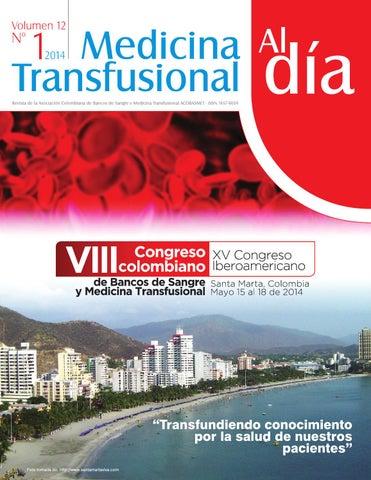 Revista Medicina Transfusional Vol 12-1 by Rubén Darío Rojas Olier ...