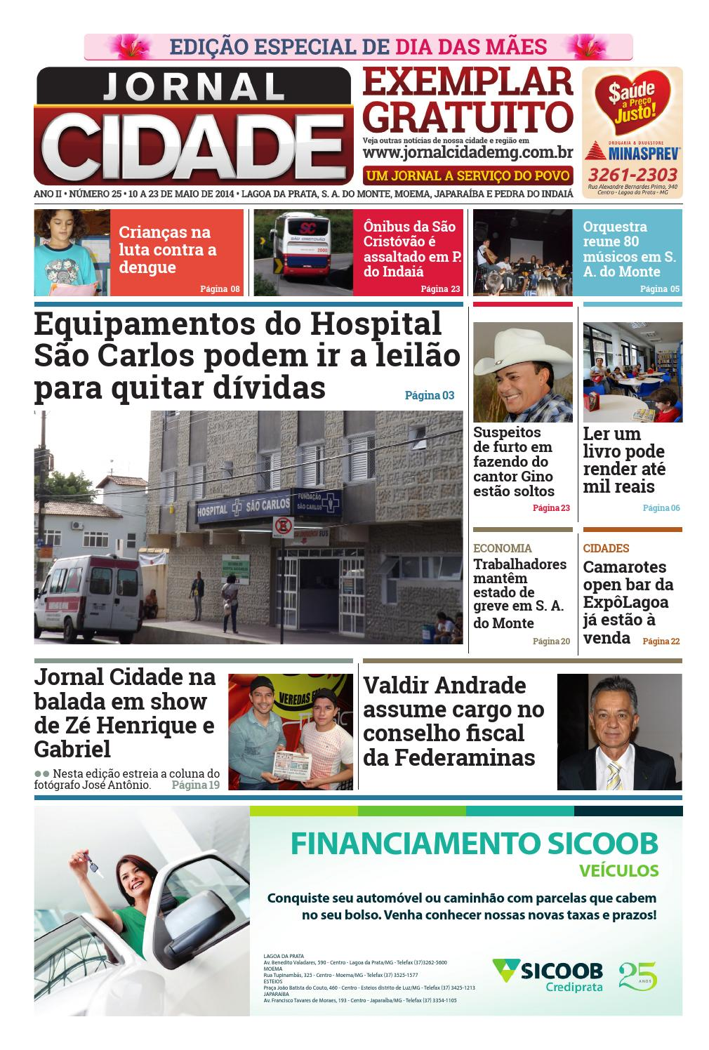 c52381d54 Jornal Cidade - Ano II - Nº 25 by Jornal Cidade - issuu