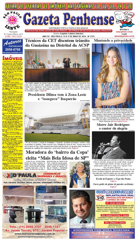 a1d655c38 11 a 17/05/14 - edição 2172 - Gazeta Penhense by Marcelo Cantero - issuu