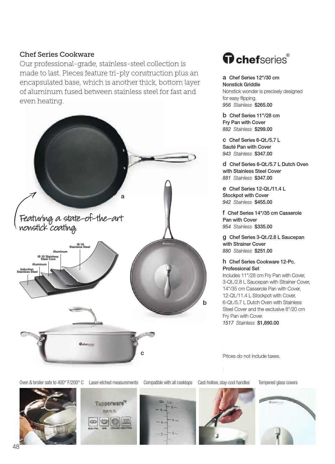 Tupperware Summer 2014 Catalog Canada By Pure Issuu Tchef Fry Pan