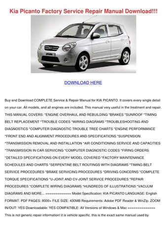 kia rio 2004 user manual