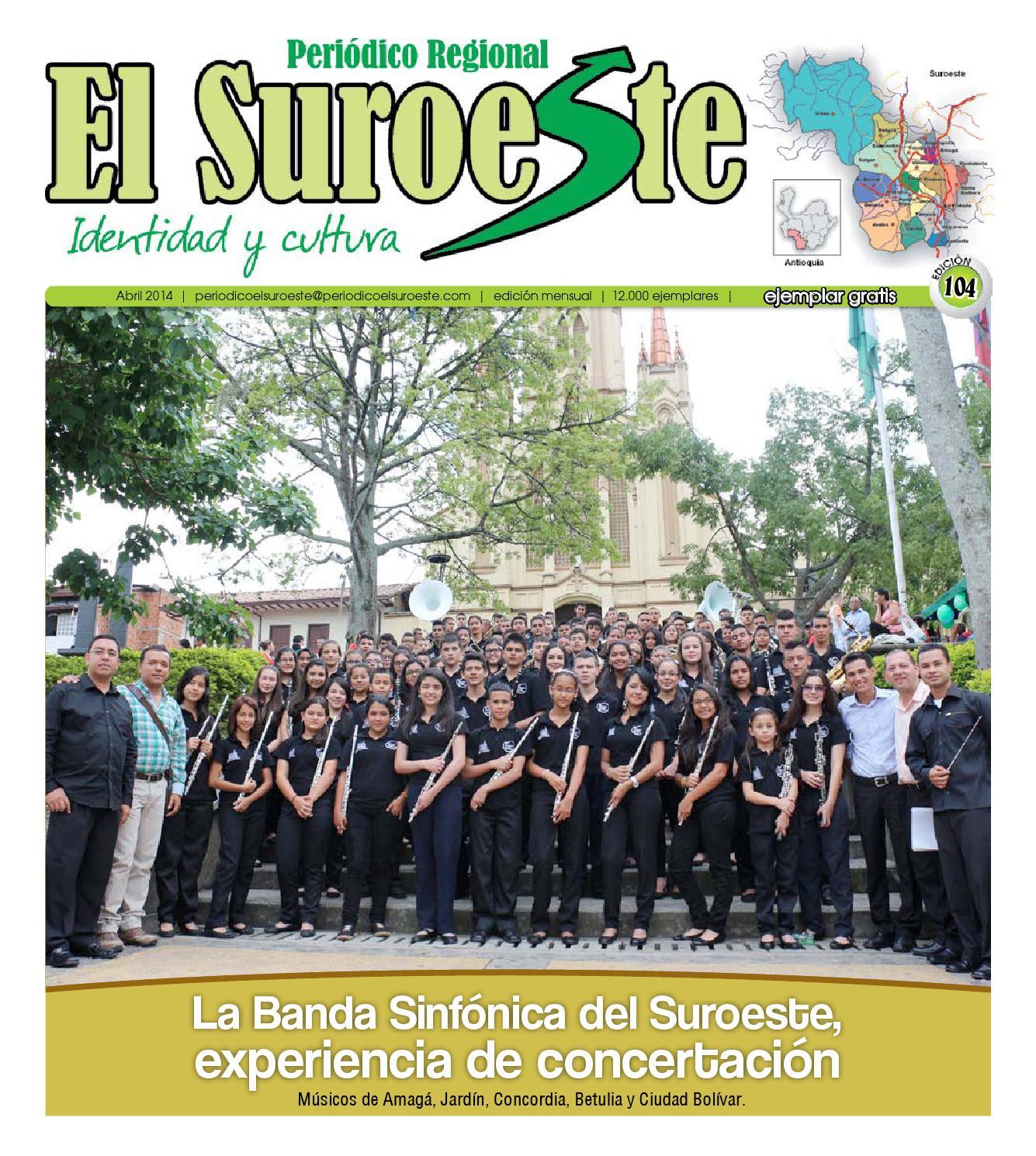 Periódico El Suroeste edición 104 abril 2014 by Periódico EL ...