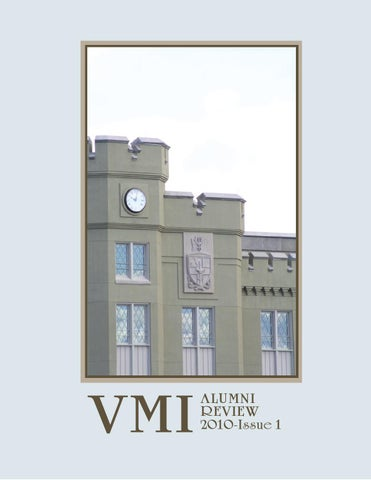 d85888fc1e Alumni Review 2010 Issue 1 by VMI Alumni Agencies - issuu