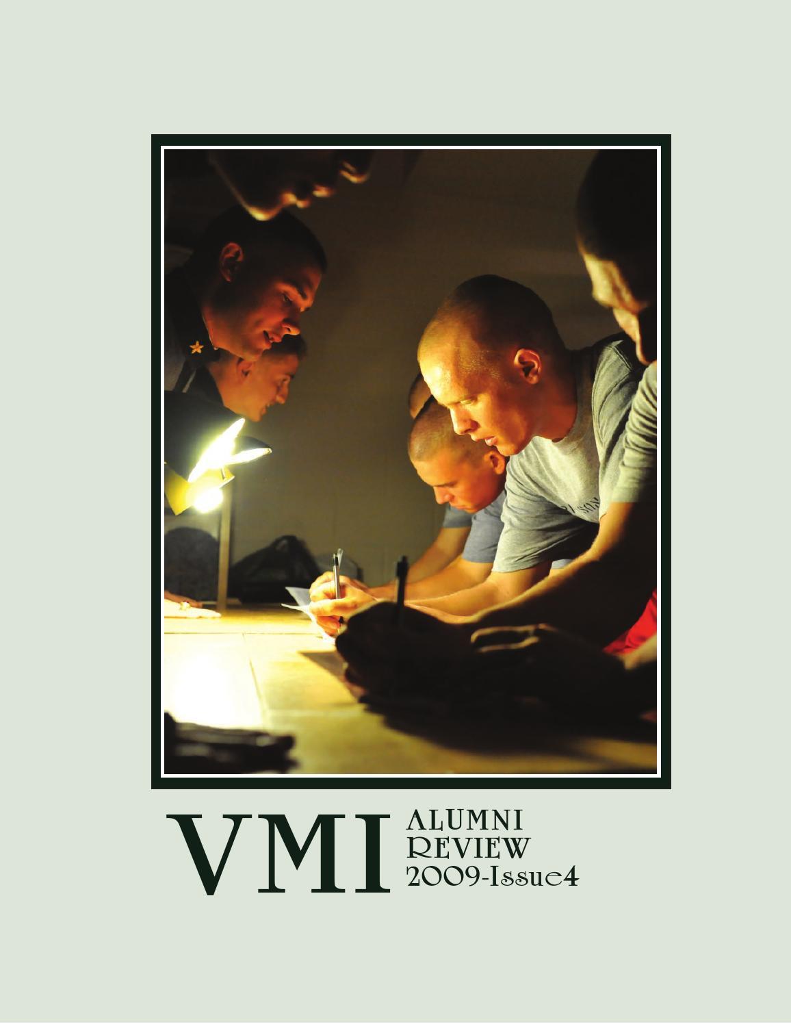 a08ac51f7 Alumni Review 2009 Issue 4 by VMI Alumni Agencies - issuu