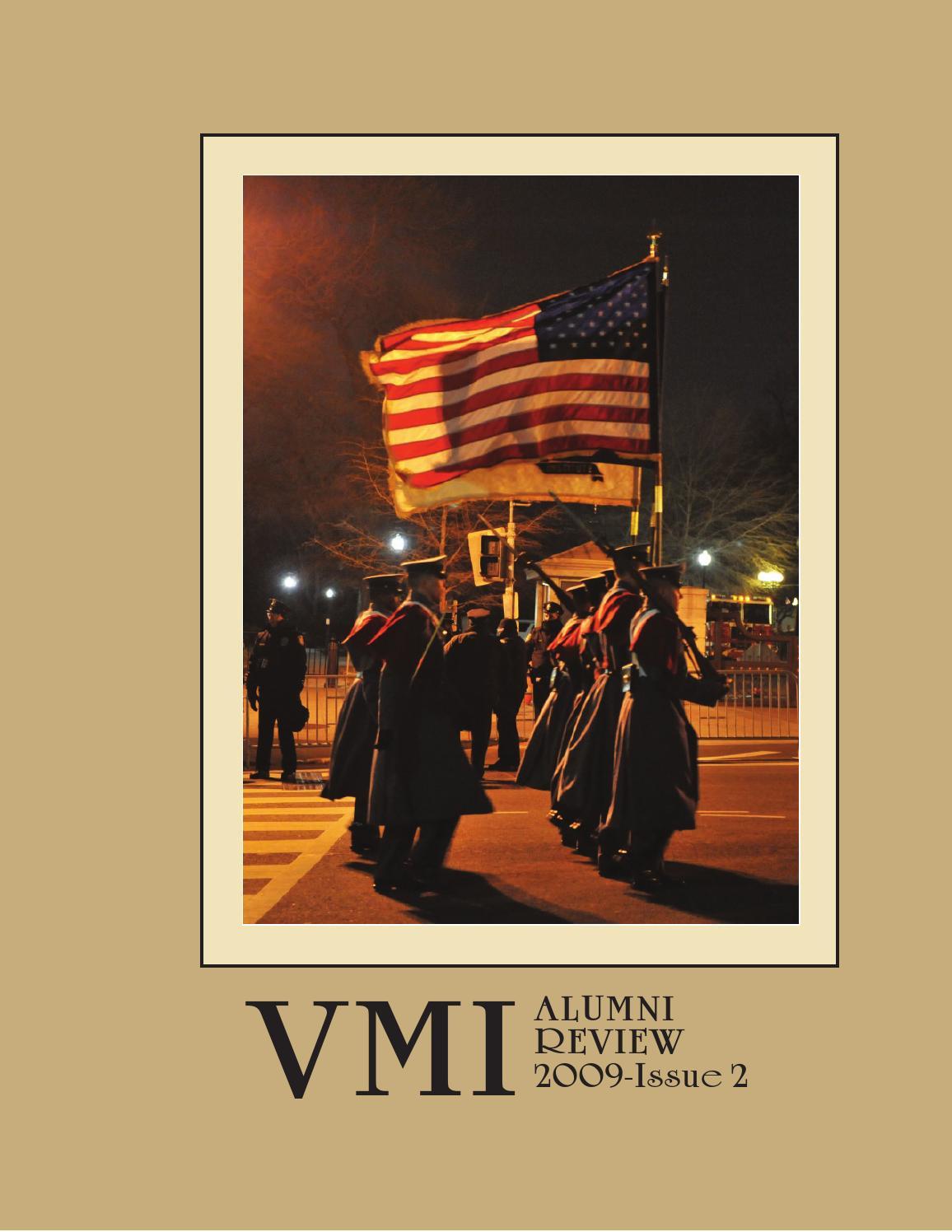 alumni review 2009 issue 1 by vmi alumni agencies - issuu