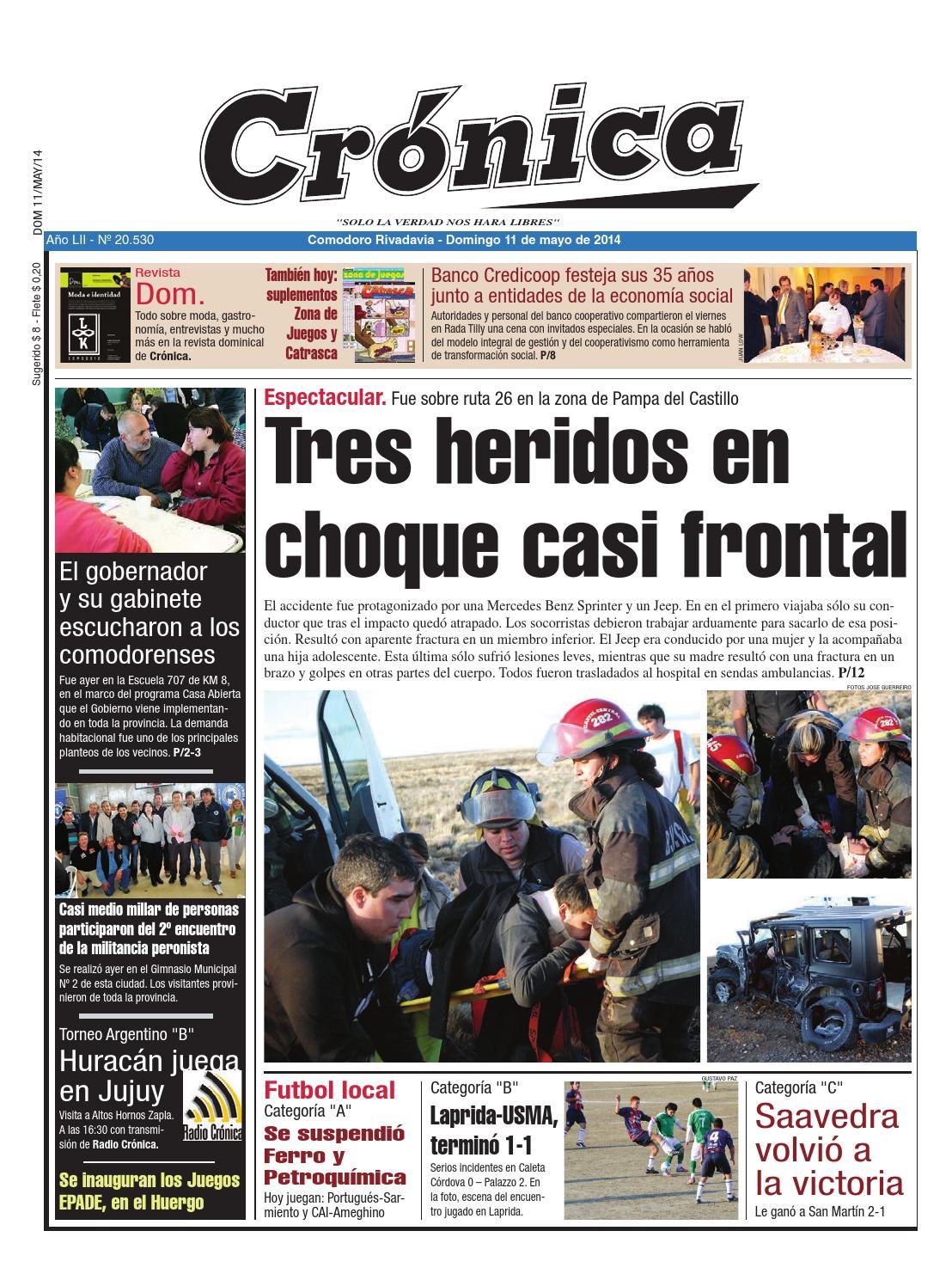 Adaee518bdf511ff4b083fe86d7d4b7e by Diario Crónica - issuu