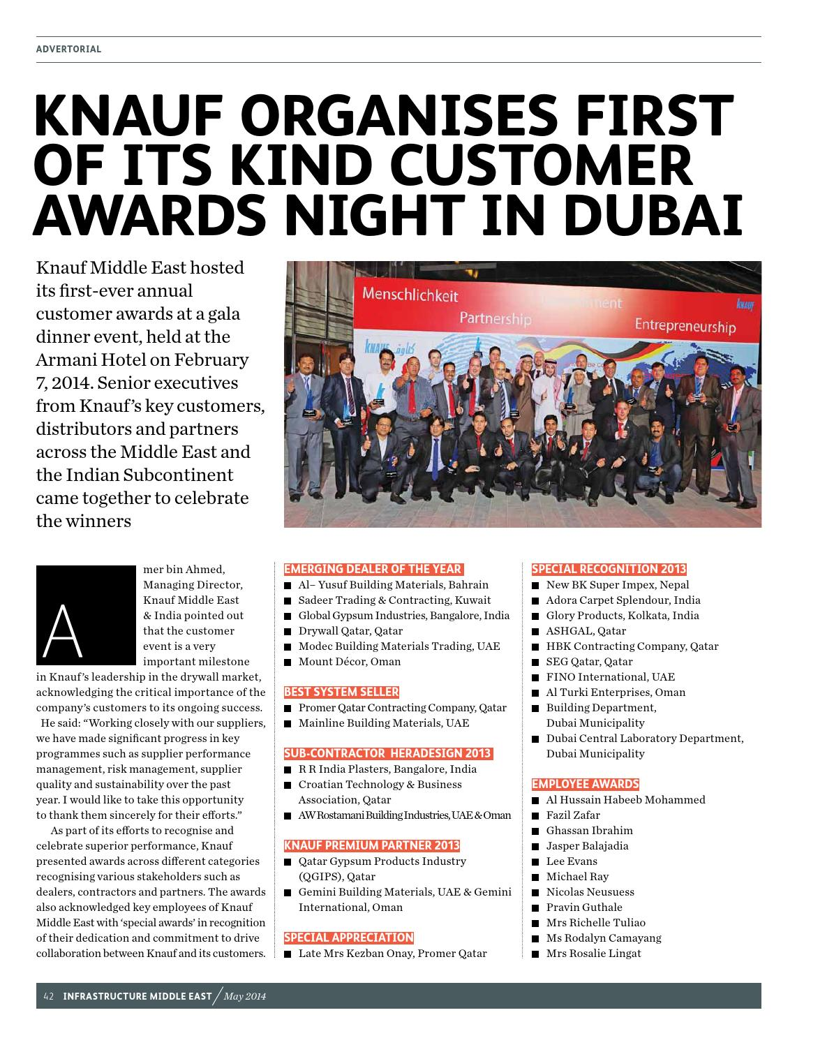 Infrastructure Middle East May 2014 by Infrastructure ME - issuu