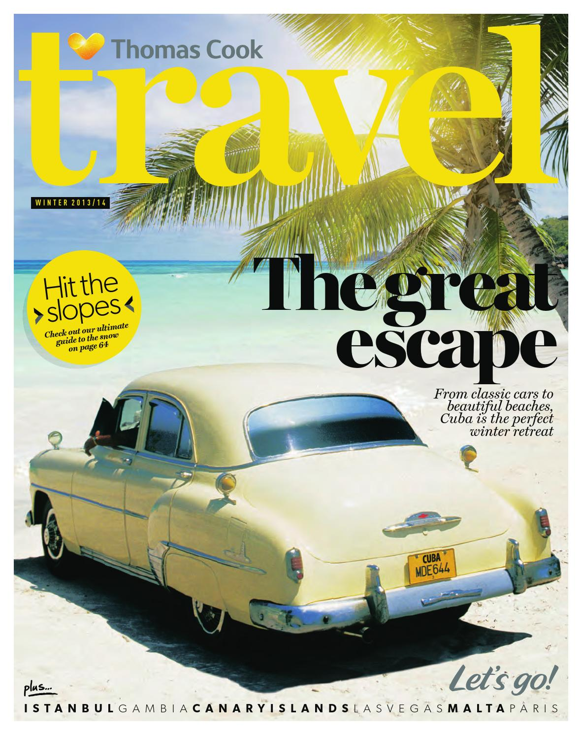 Thomas Cook Travel - Winter 2013 by Bookletia - issuu d9d8fed9e6b0