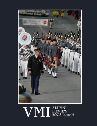 b57633cb5 Alumni Review 2008 Issue 2 by VMI Alumni Agencies - issuu