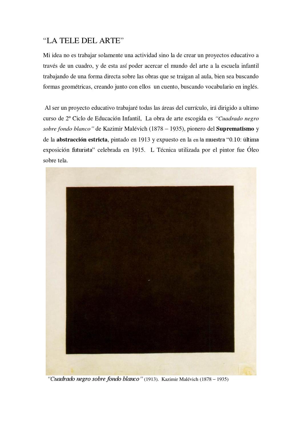 La Tele Del Arte By William Alepuz Issuu