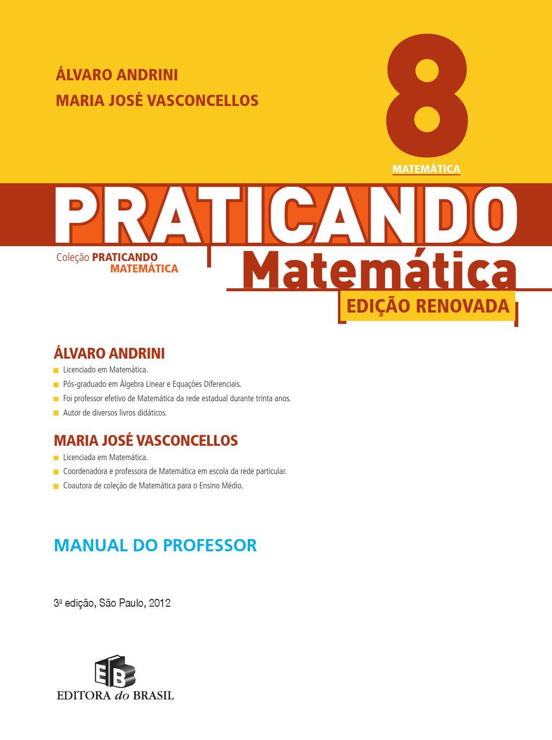 89adae448 Praticando matematica 8ano by ronaldo.cardoso - issuu