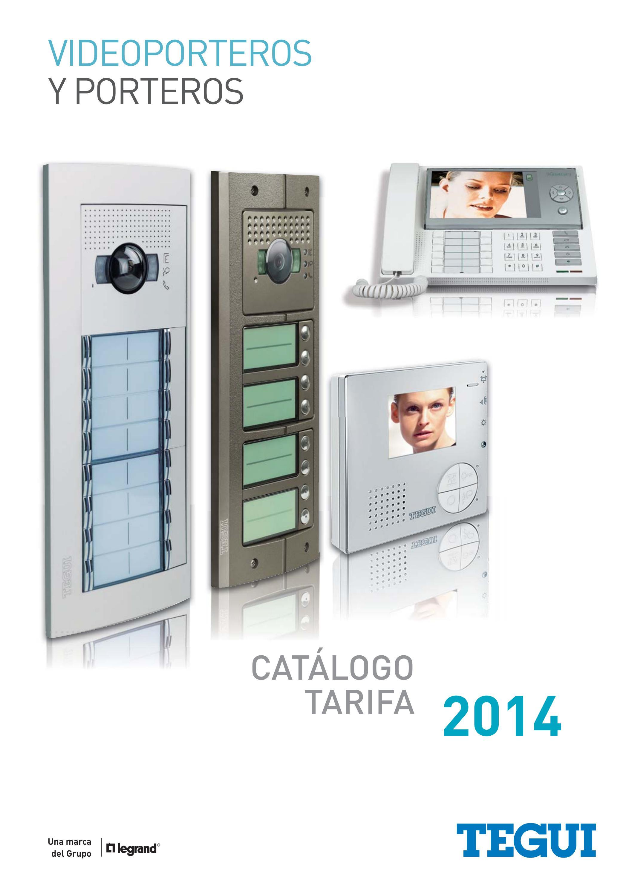 Catalogo Tarifa Videoporteros Porteros Tegui 2014 By Gomez