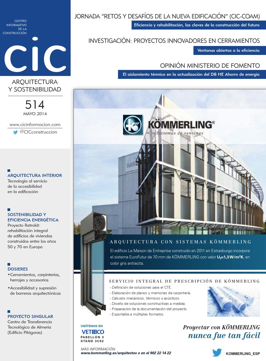 CIC Arquitectura y Sostenibilidad nº 514 by Digital Newspapers S.L. ...