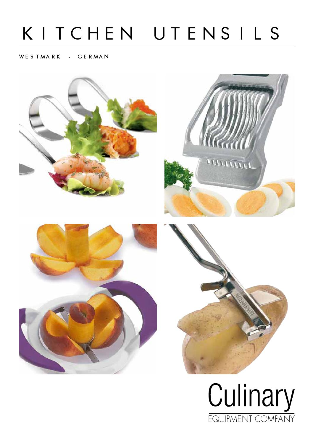 Kitchen Utensils By Culinary Equipment Company Issuu