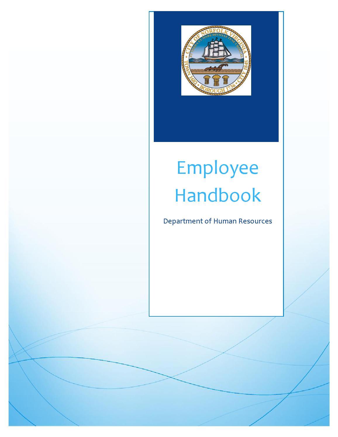 hcs430 employees handbook