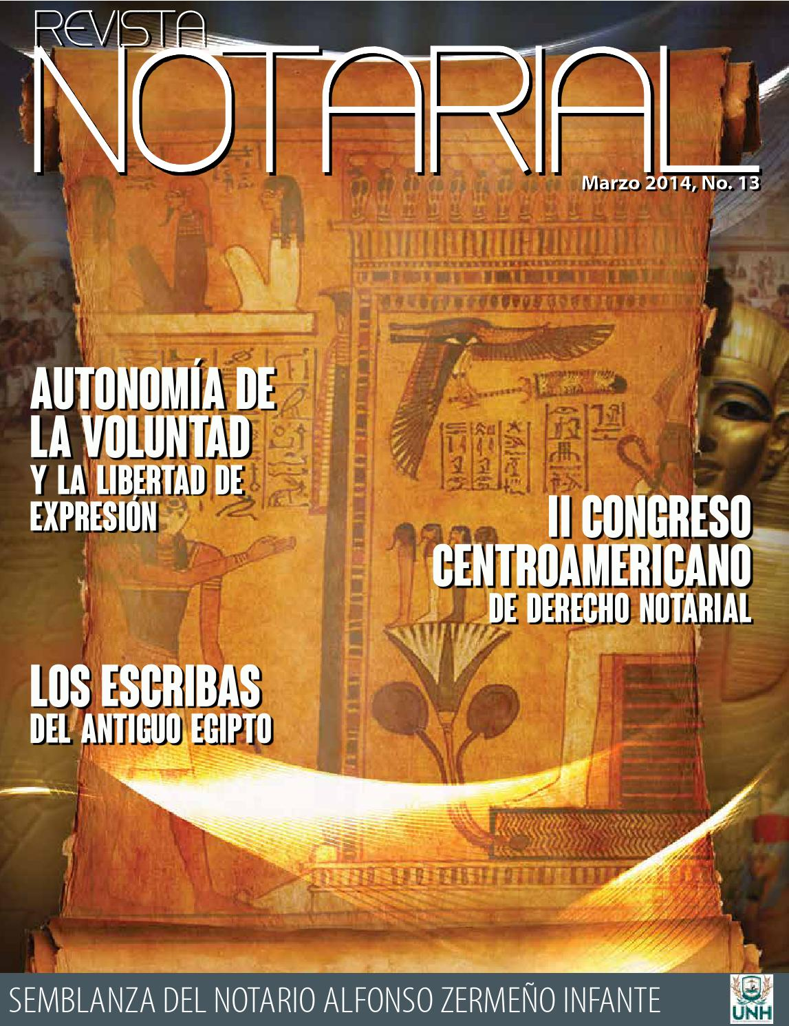Revista Notarial De Honduras Vol 13 By Javier Romero Issuu