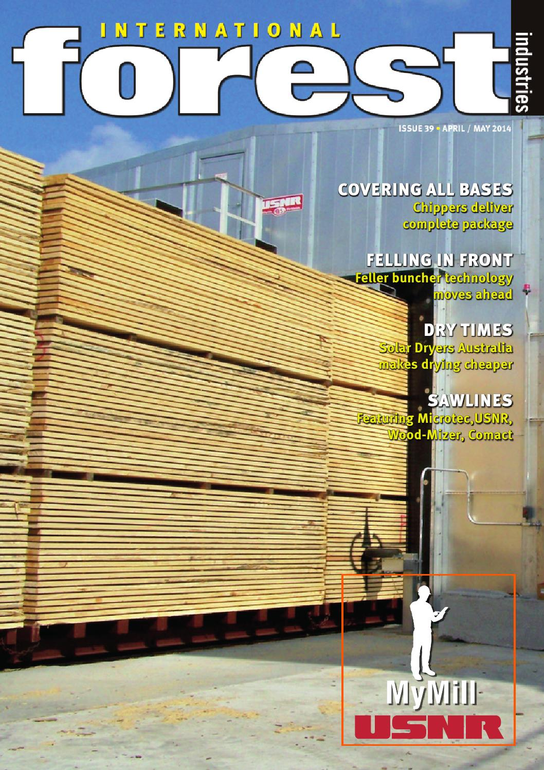 International forest industries magazine april may 2014 with