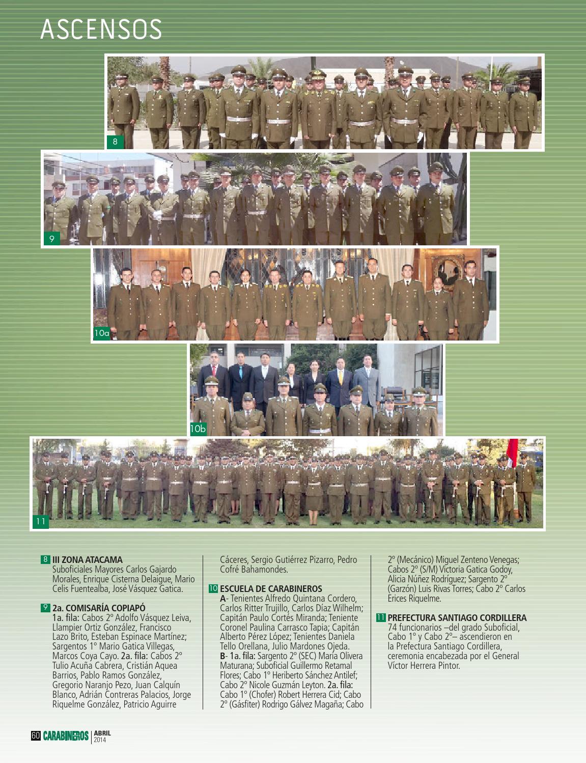 Edic 708 Abril 2014 By Carabineros De Chile Carabineros De Chile Issuu