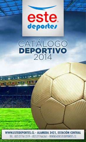 Catálogo Este Deportes 2014 by Gustavo Nuñez - issuu e10bb3ad252b5