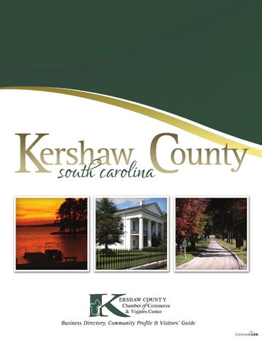Kershaw County, SC 2014 Business Directory, Community Profile ...