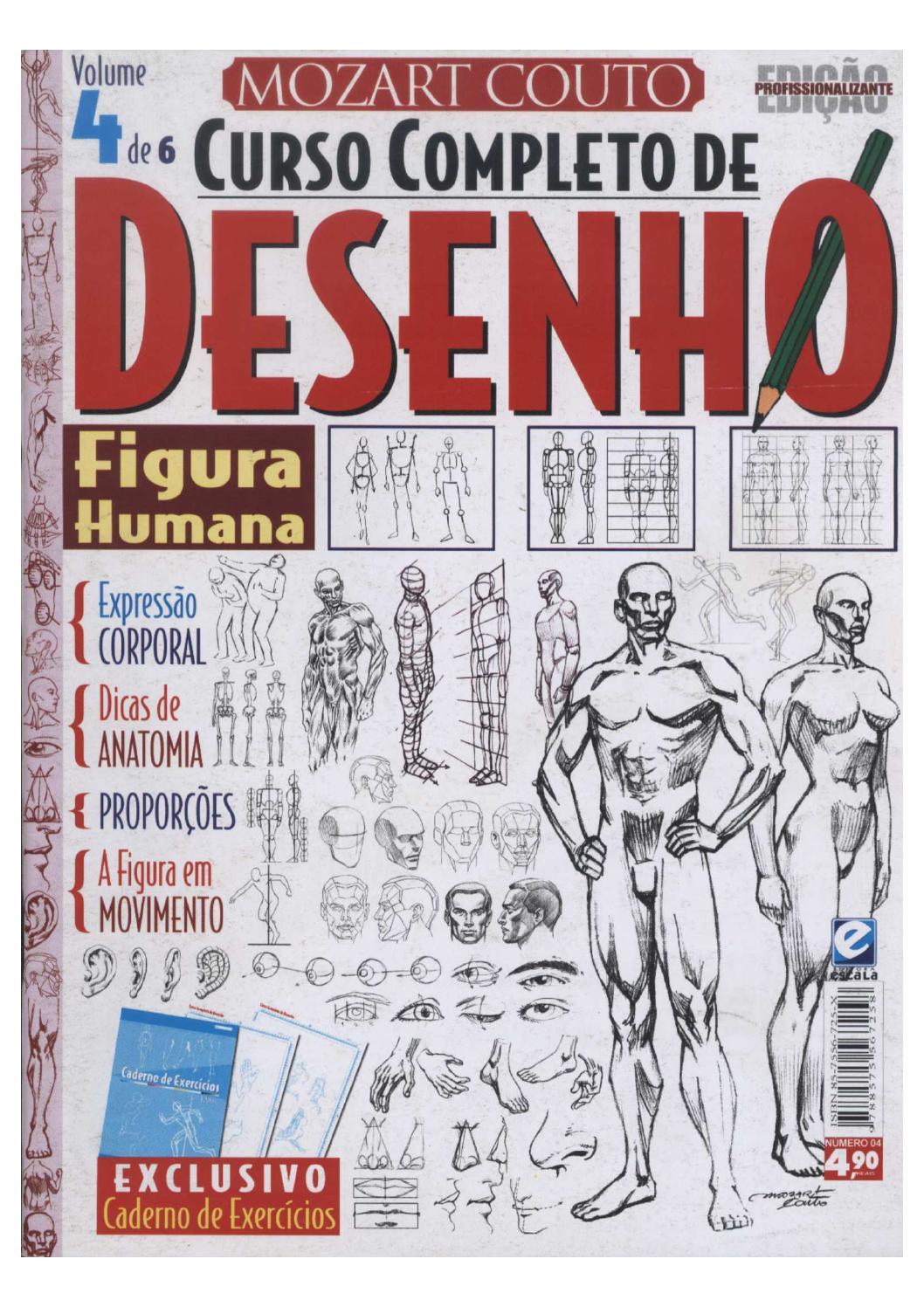 Curso completo de desenho por mozart couto nº4 by Arthur Araújo - issuu