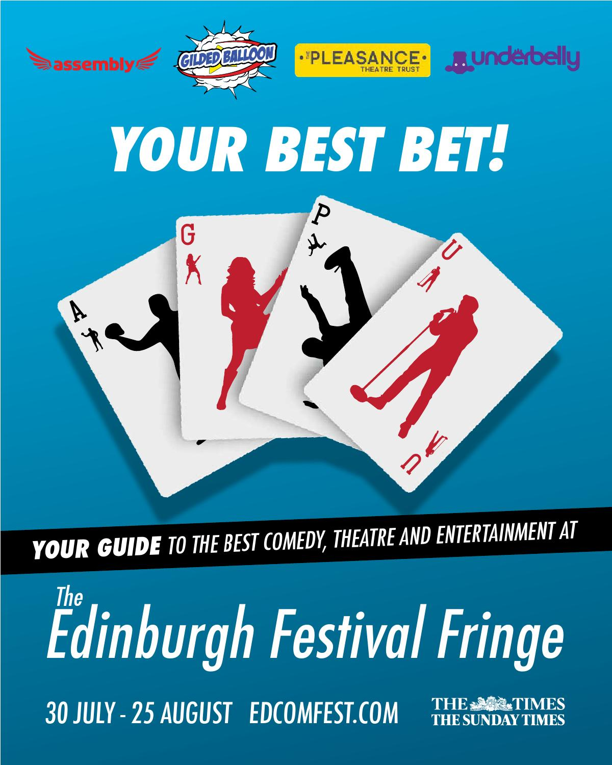 Edinburgh Joint Venue Brochure 2014 by Edinburgh Comedy Festival ...