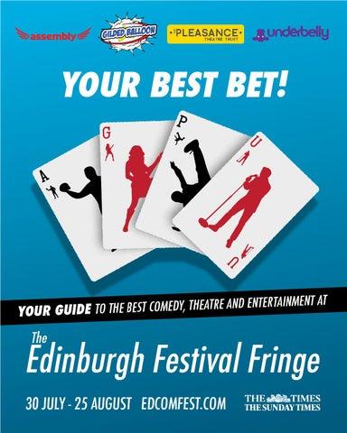 3b47430f Edinburgh Joint Venue Brochure 2014 by Edinburgh Comedy Festival - issuu