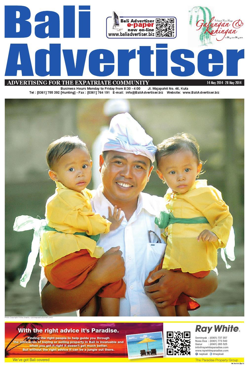 BA 14 May 2014 by Bali Advertiser issuu