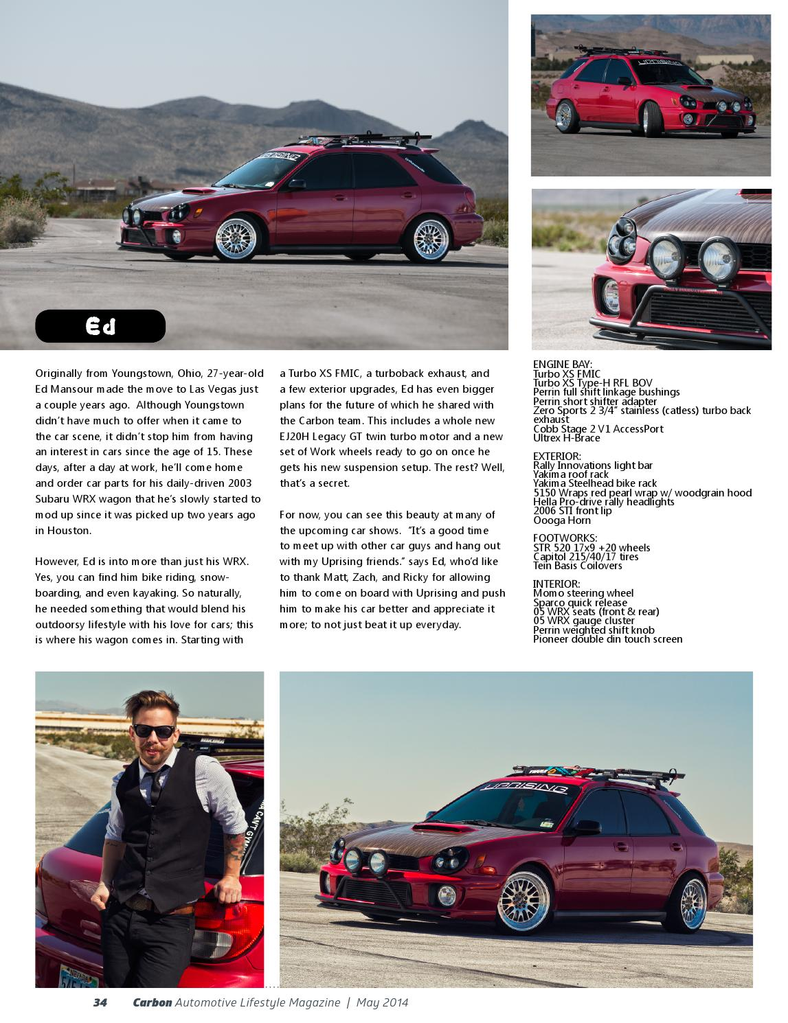 Carbon Automotive Lifestyle Magazine Issue #7 by