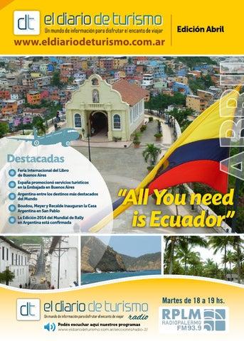 Revista dt Abril 2014 by El Diario de Turismo - issuu