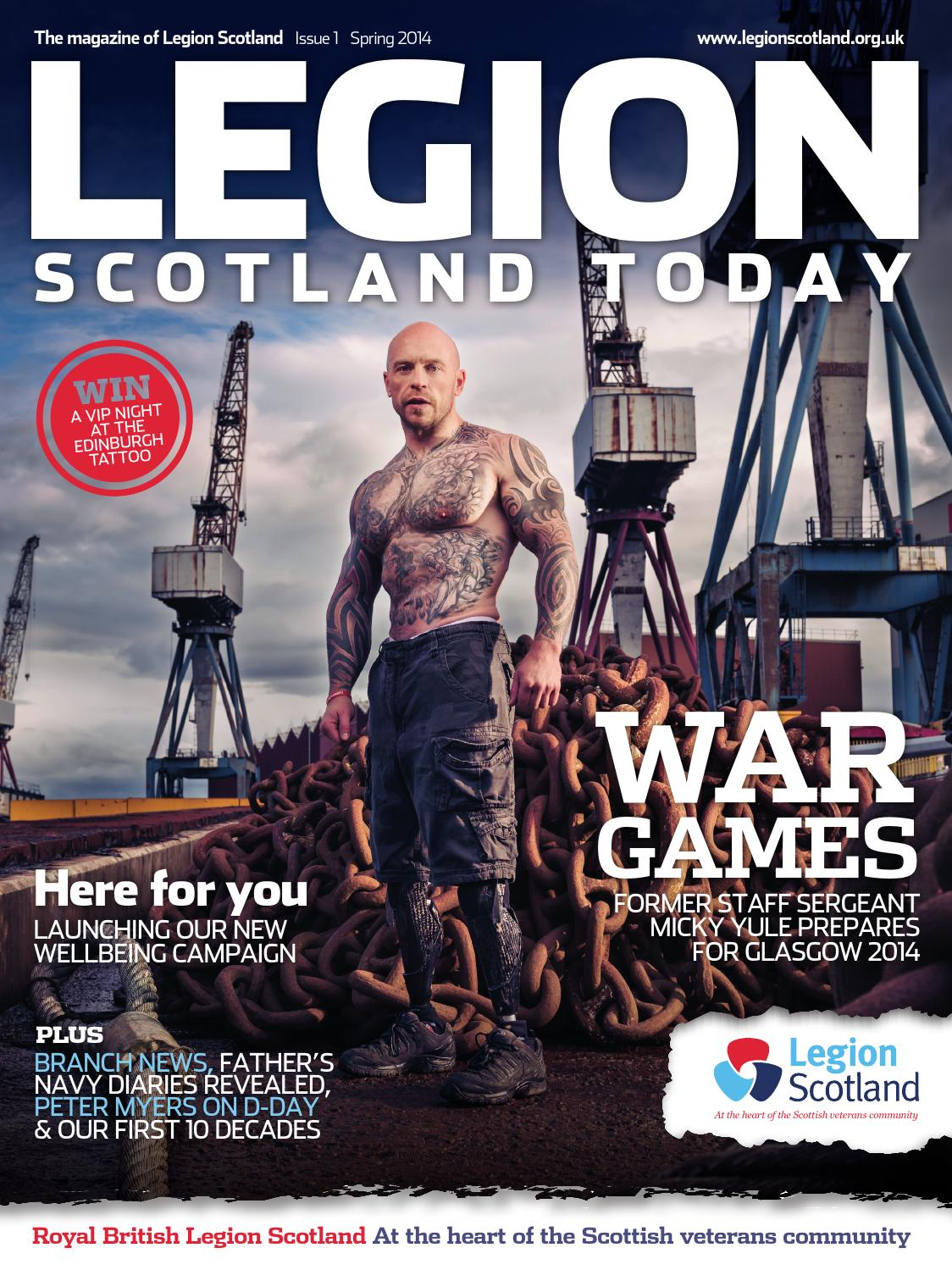 Legion Scotland Today Spring 2014 By Think Publishing Issuu