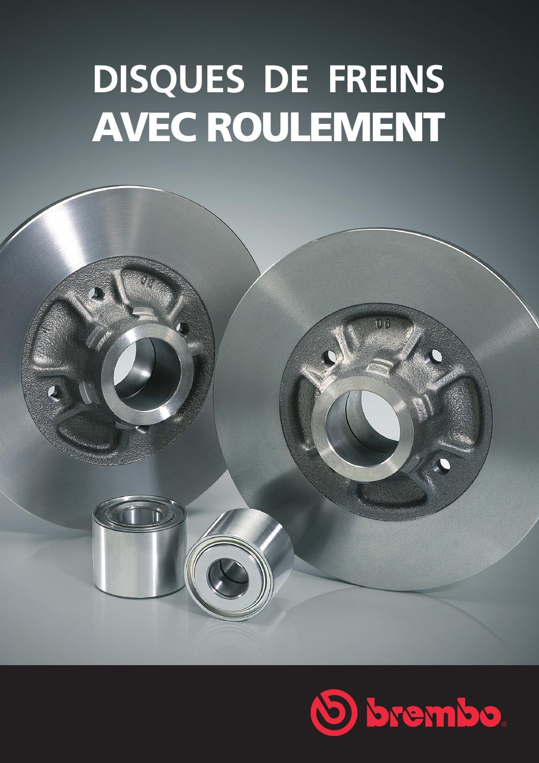 PEUGEOT 308 Arrière 1 seul disque de frein montés Roue Roulement /& ABS Anneau Nouveau