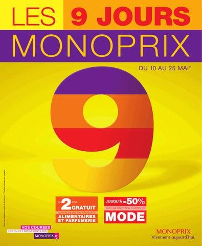 Catalogue monoprix du 10 au 25 mai by anti issuu - Magasin ouvert dimanche 7 mai ...