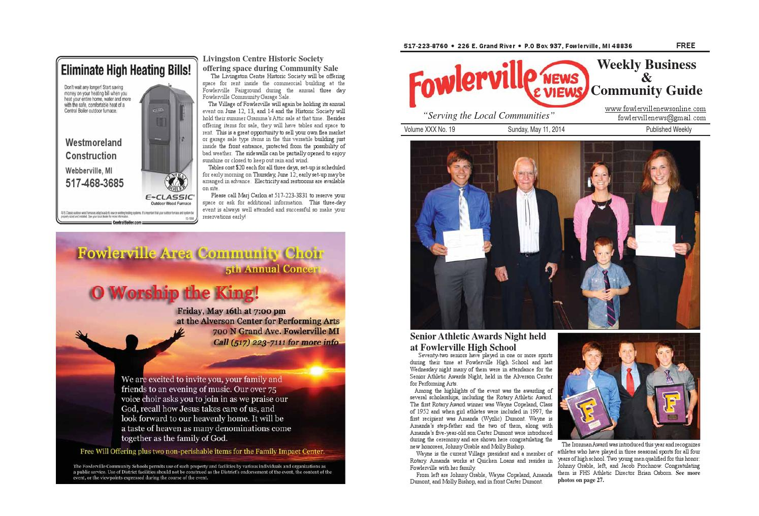 Fowlerville News u0026 Views Online by