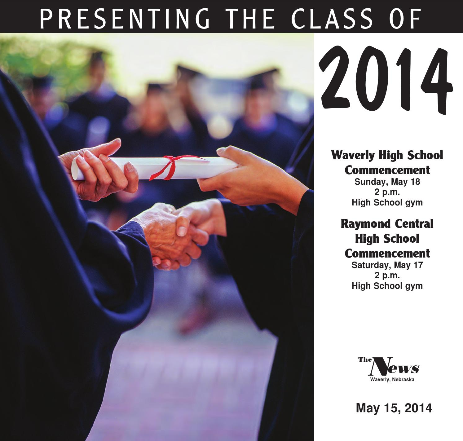 2014 Waverly Graduation