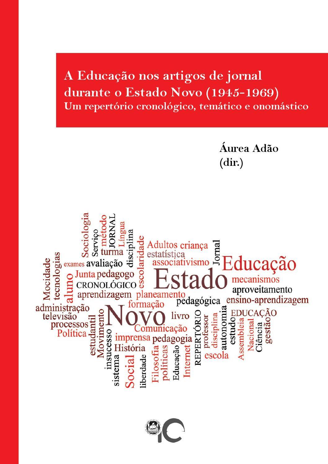 1de7f66a435 A educação nos artigos de jornal durante o estado novo by Instituto de  Educação da Universidade de Lisboa - issuu