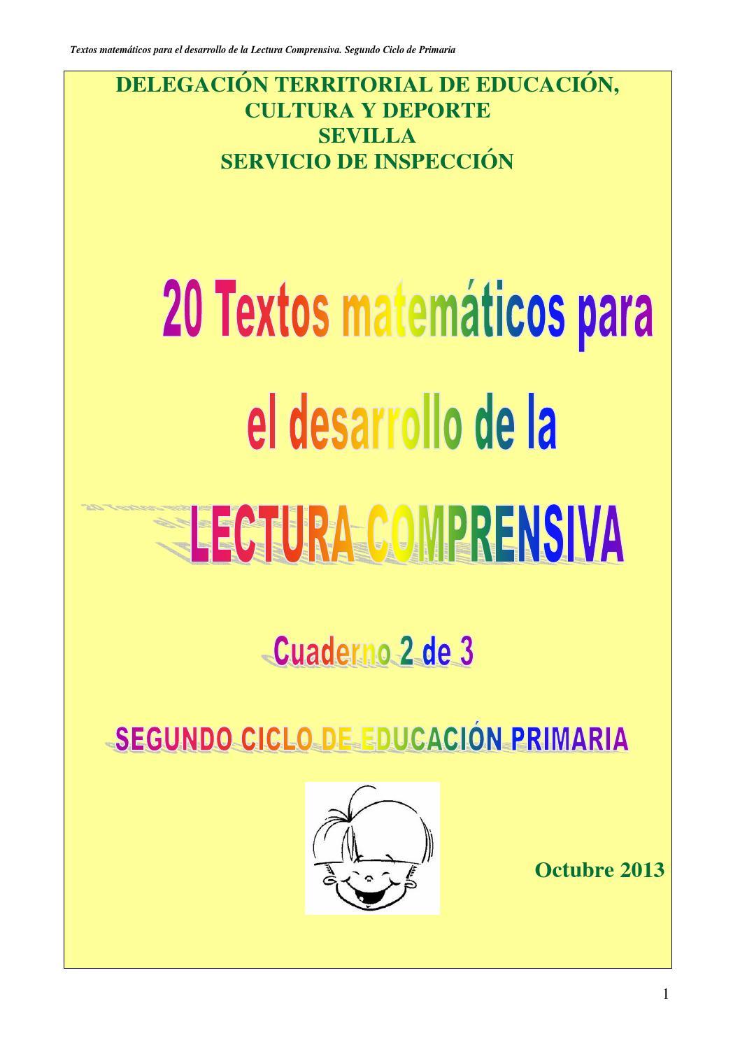 Textos matematicos lectura comprensiva e primaria ciclo 2 copia by ...