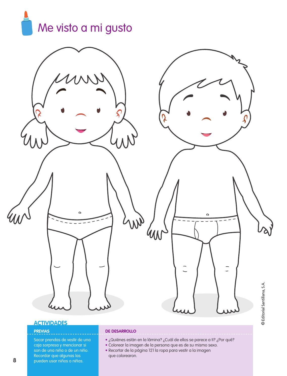 Atractivo Niño Y Niña Para Colorear Imágenes - Dibujos Para Colorear ...