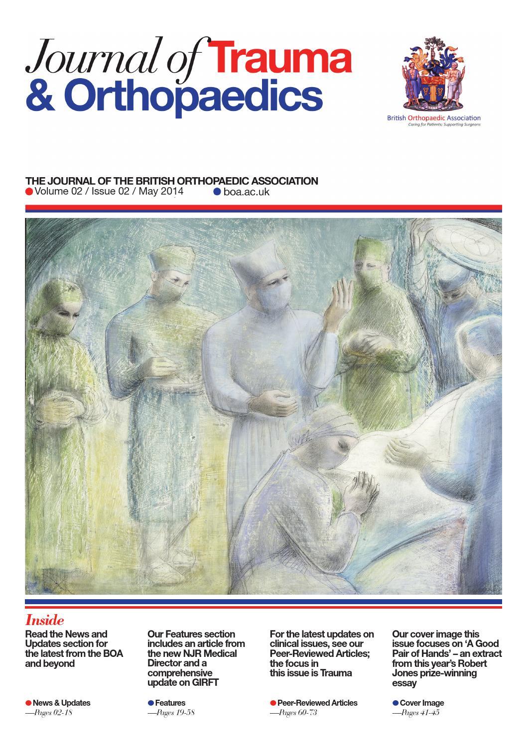 journal of trauma orthopaedics vol 2 iss 2 by british