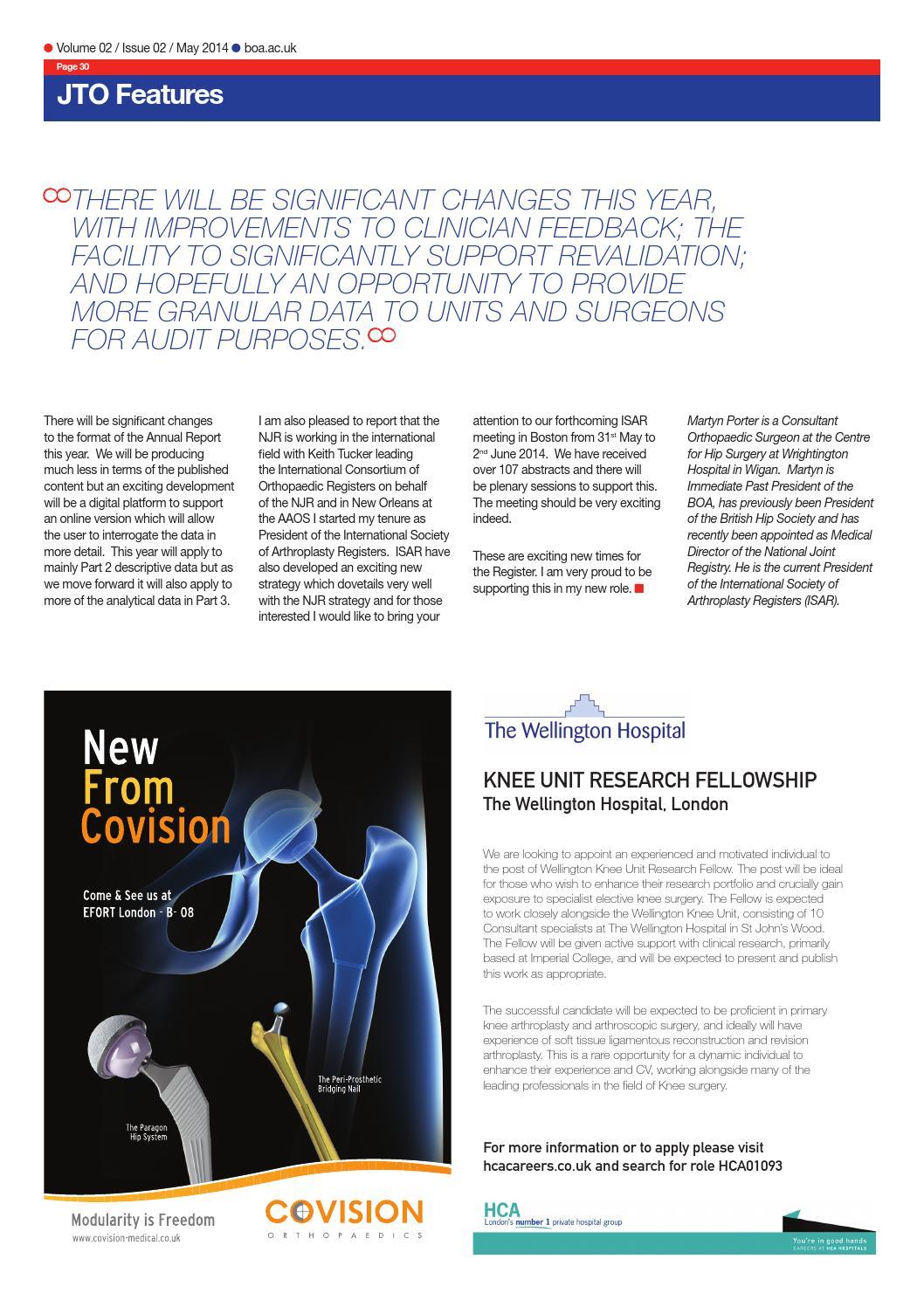 Journal of Trauma & Orthopaedics - Vol 2 / Iss 2 by British