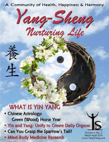 Yang Sheng March April 2012 By Dao Of Well Being Issuu
