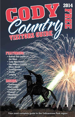 Visitor S Guide 2014 By Cody Enterprise Issuu