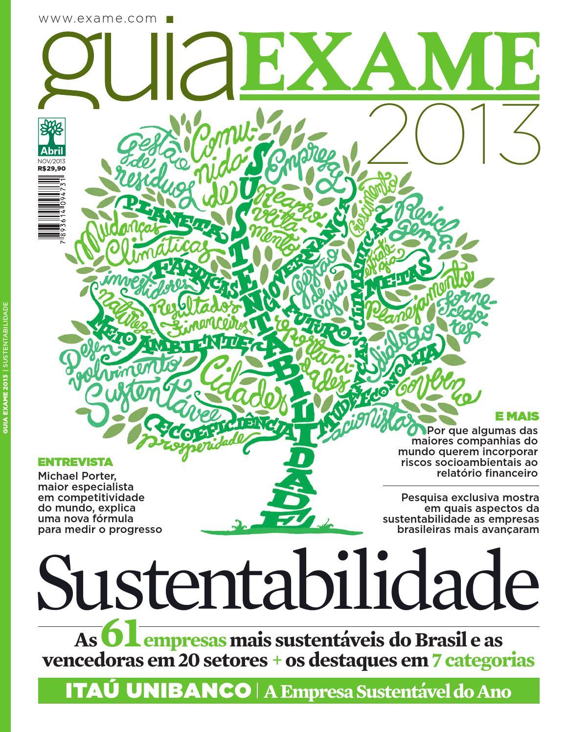 2827f5bf9 Guia EXAME de Sustentabilidade 2013 by Revista EXAME - issuu