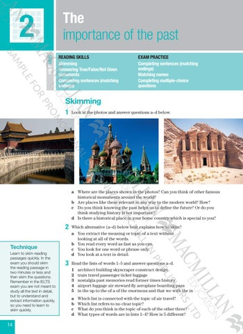 Improve your skills for ielts reading low by Macmillan