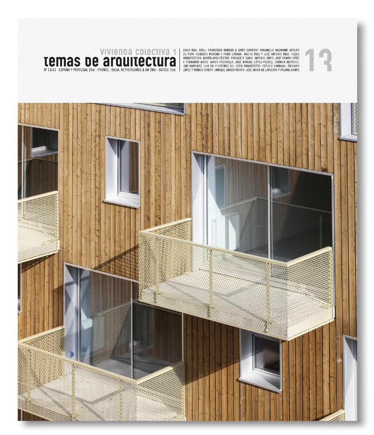 Ta 13 vivienda colectiva social by tc cuadernos issuu - Flexo arquitectura ...
