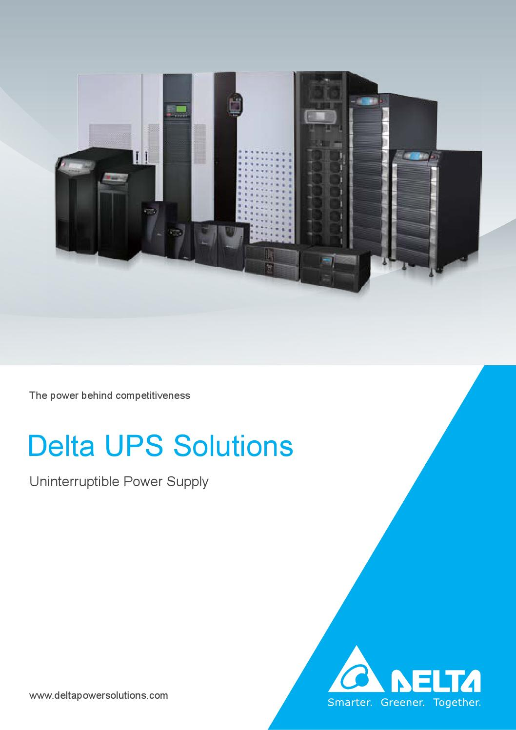Delta Ups Solutions By Electronics Inc Issuu Riello Circuit Diagram